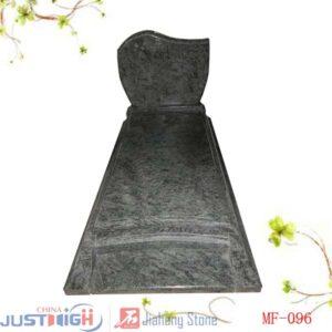 pierre tombale granit vert