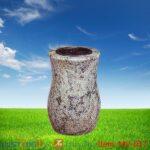 stone memorial vases