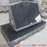 grey granit slant headstone wholesale from china supplier
